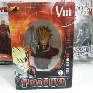 Vash the Stampede Resin Mini Bust Red Trigun NEW